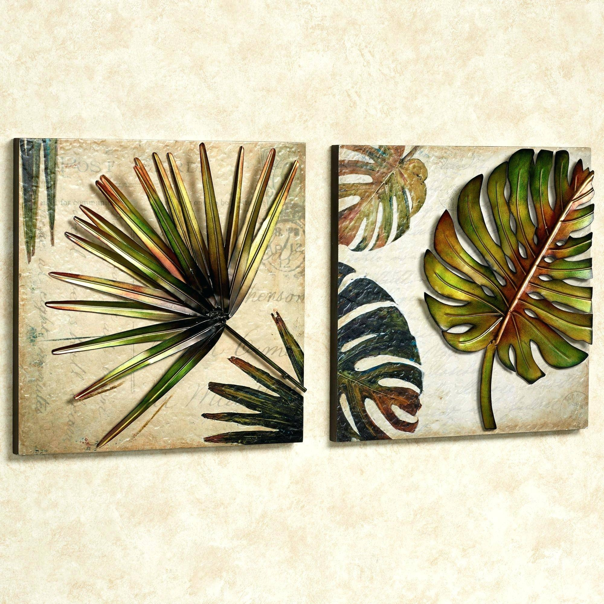 Lovely Ideas Tropical Metal Wall Art Gifts Nautical – Wall Art Ideas For 2018 Tropical Metal Wall Art (View 2 of 20)