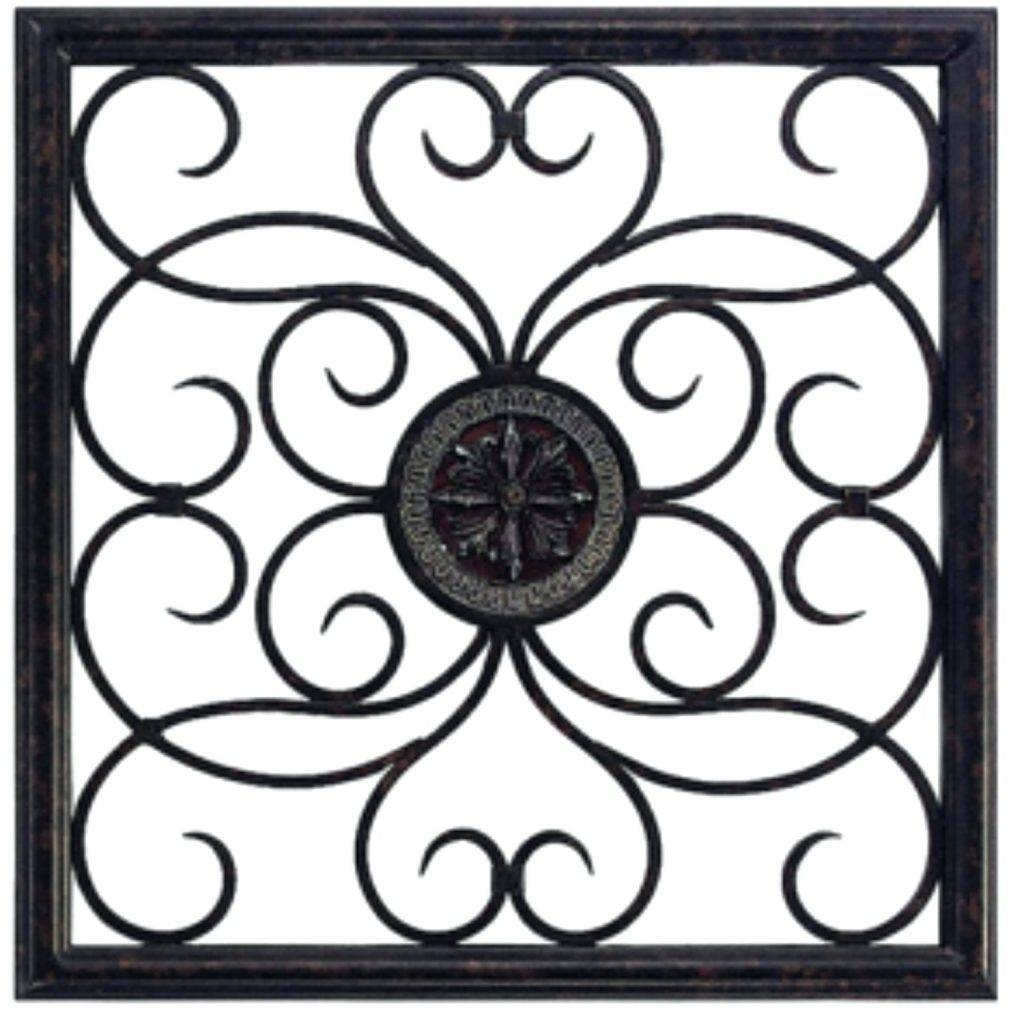 Majestic Square Metal Wall Art 3D Decorative Ebay Silver Large With Most Recent Square Metal Wall Art (View 4 of 20)