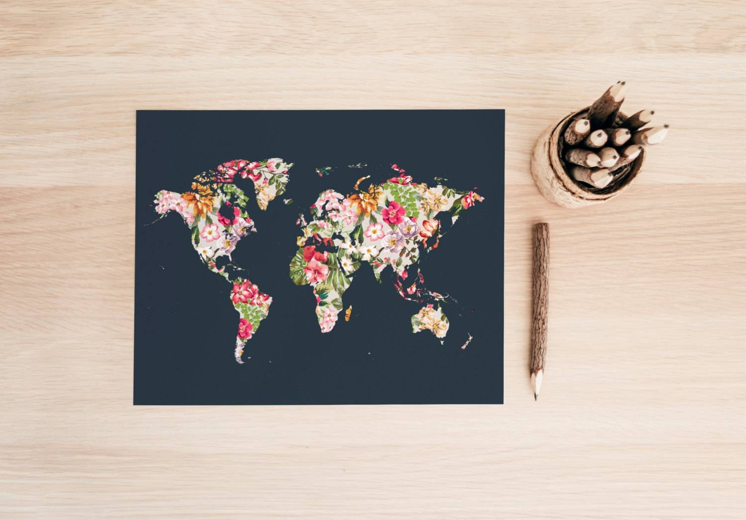 Maps Update #37252478: Travel Wall Maps – Travel Wall Map (+75 Intended For 2018 World Map Wall Art Print (View 11 of 20)