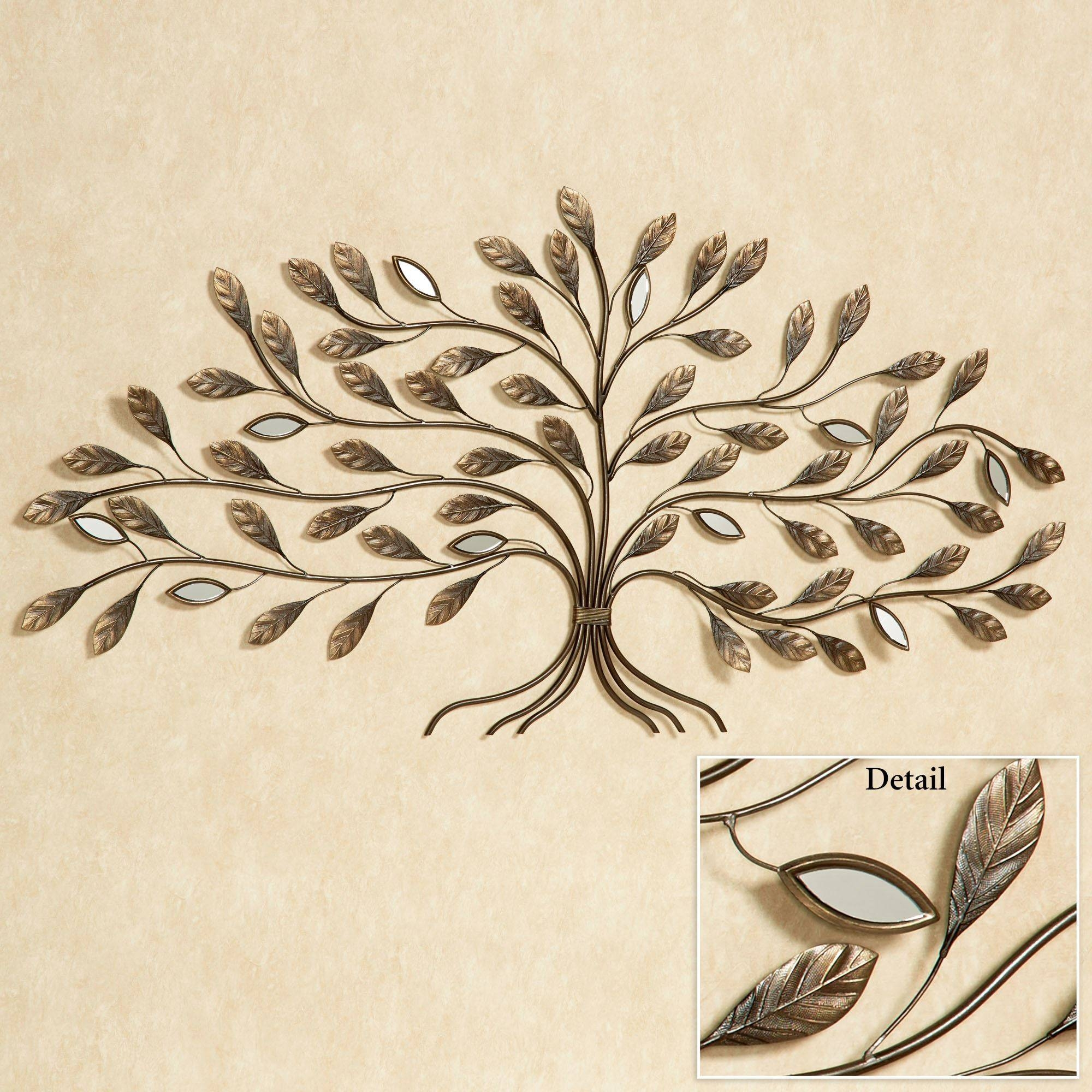 Marielle Tree Metal Wall Art For Most Up To Date Metal Wall Art Trees (View 9 of 20)
