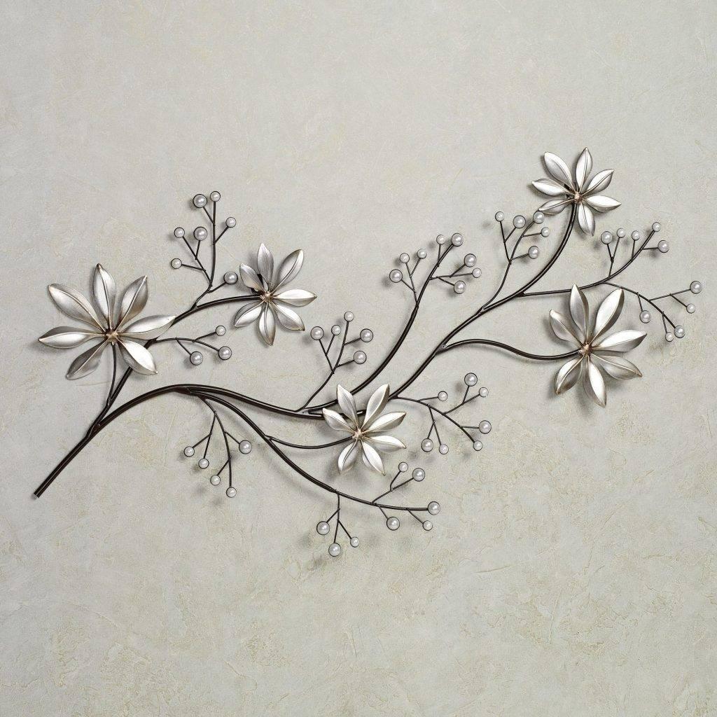 Marvellous Inspiration Flower Metal Wall Art Bronze Blue Brown In Newest Blue Flower Metal Wall Art (View 10 of 20)