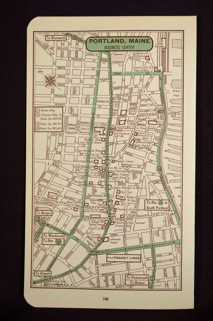 Mer Enn 25 Bra Ideer Om Portland Map På Pinterest | Portland Intended For Best And Newest Portland Map Wall Art (View 4 of 20)