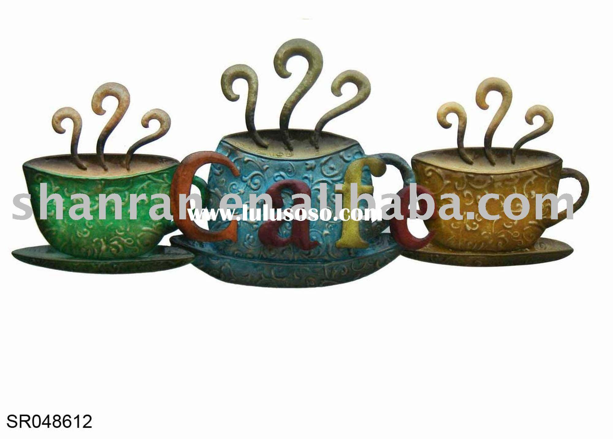 Mesmerizing Contemporary 'tea & Coffee Cups' Metal Wall Art Price Within 2018 Coffee Metal Wall Art (View 15 of 20)