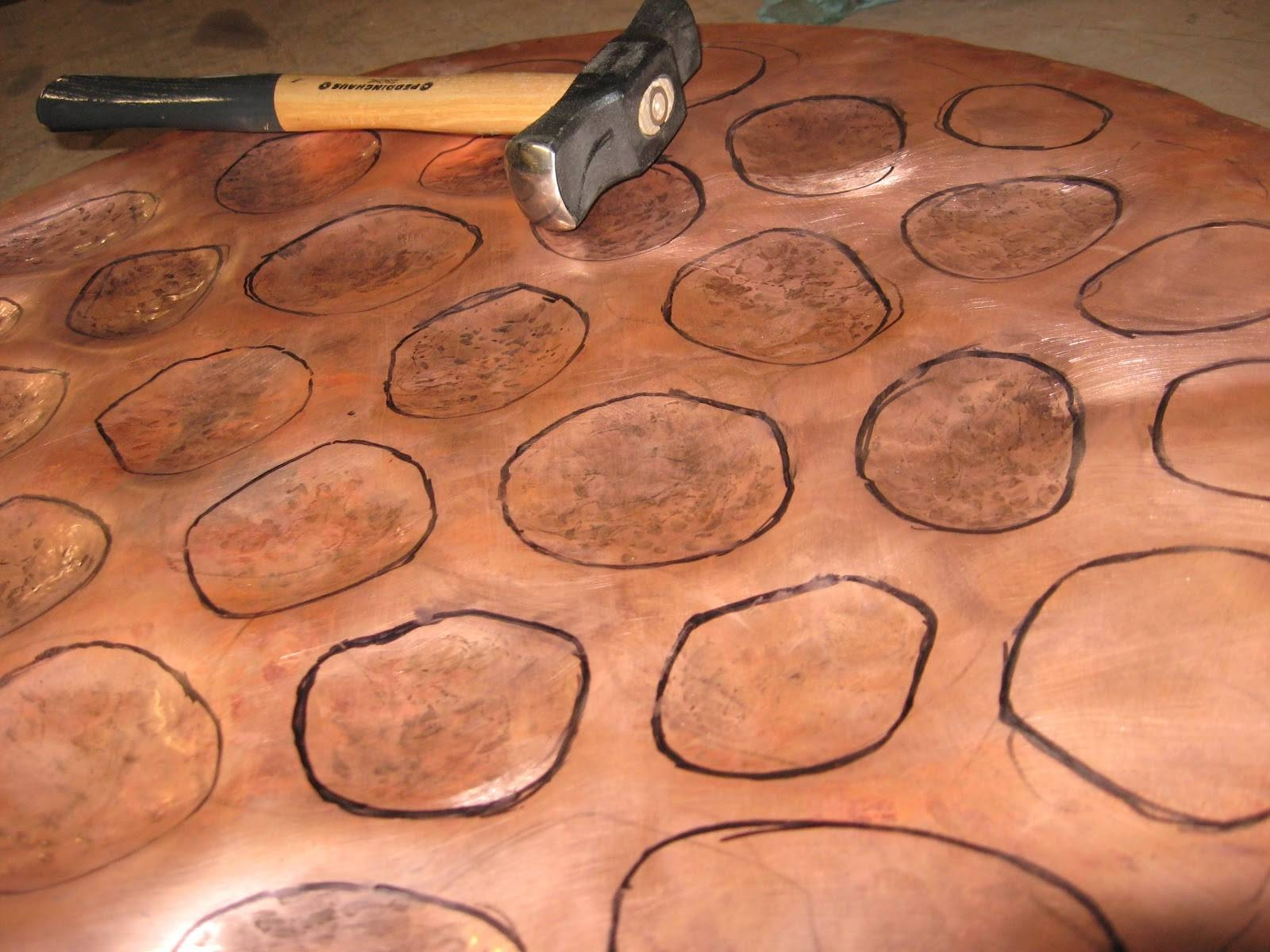Metal Art And Sculpture: Repousse And Chasing Tutorial – Copper For Newest Sheet Metal Wall Art (View 8 of 20)