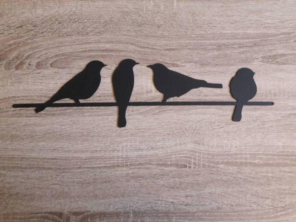 Metal Bird Wall Art Birds On A Wire Wall Art Metal Wall Art With Regard To Most Current Metal Wall Art Birds (View 18 of 20)
