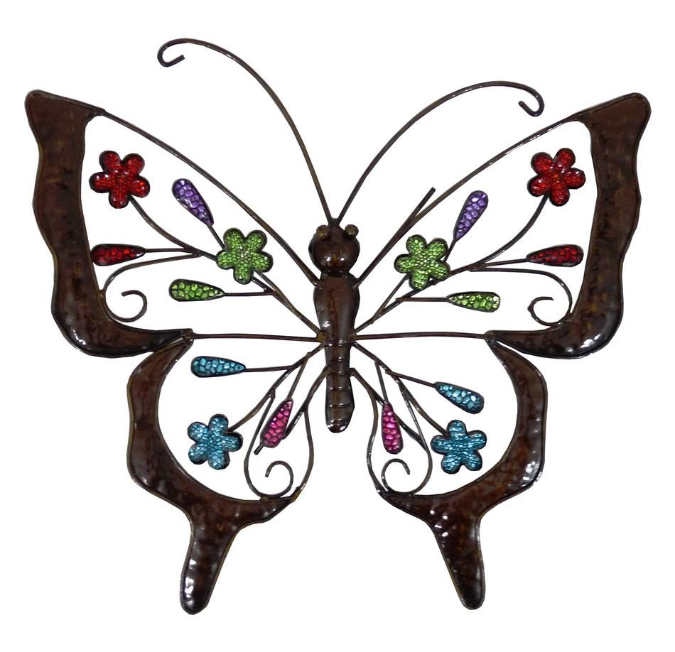 Metal Butterfly Wall Art – Home Design With Regard To Most Up To Date Butterfly Garden Metal Wall Art (View 7 of 20)