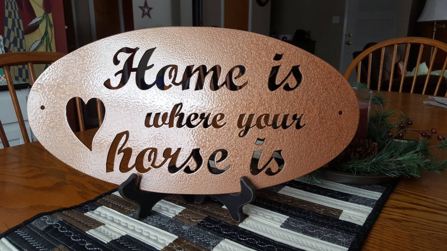 Metal Cut Sign,horse Lover Gifts,home Decor,wall Decor,wall Art With Latest Plasma Cut Metal Wall Art (View 9 of 20)