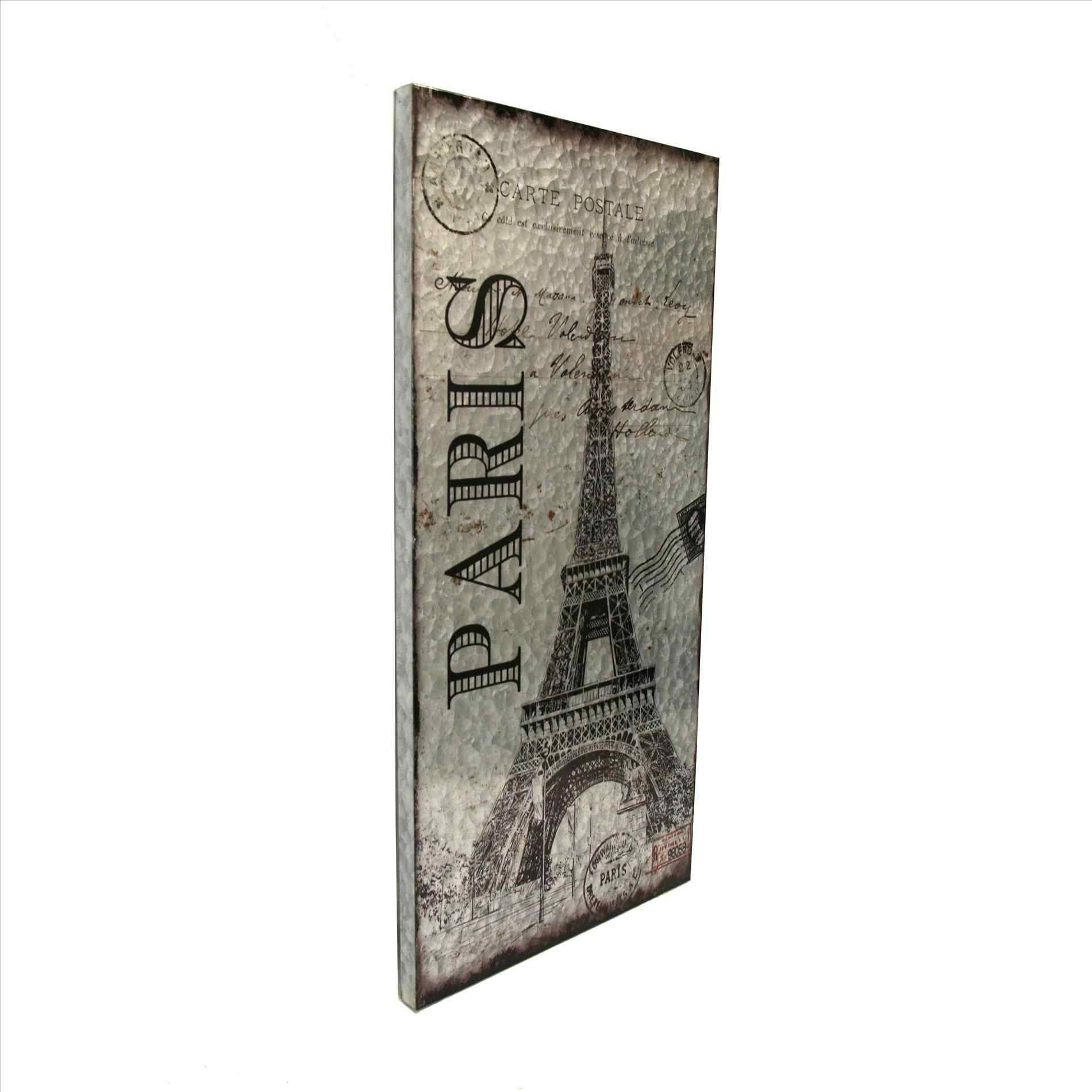 Metal Eiffel Tower Wall Art | Home Interior Decor Inside Most Popular Paris Metal Wall Art (View 15 of 20)