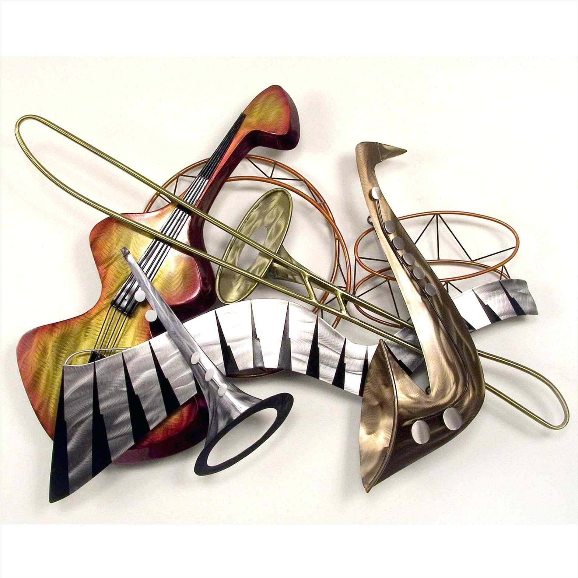 Metal Music Notes Wall Art | Home Interior Decor With Most Current Musical Metal Wall Art (View 17 of 20)