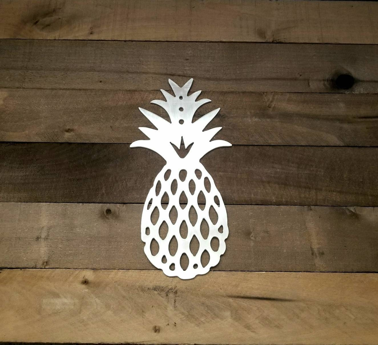 Metal Pineapple Wall Art Hawaii Pineapple Decoration In 2017 Pineapple Metal Wall Art (View 12 of 20)