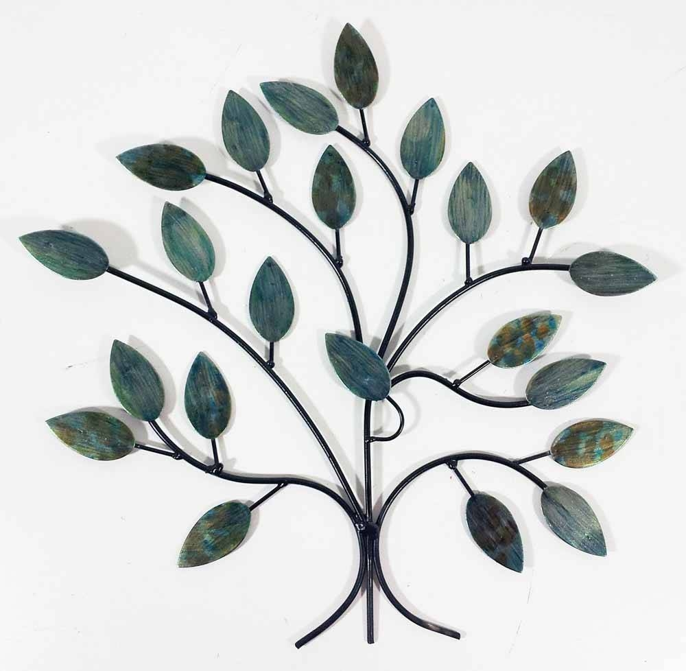 Metal Wall Art – Cool Winter Tree Branch With Newest Branch Metal Wall Art (Gallery 20 of 20)