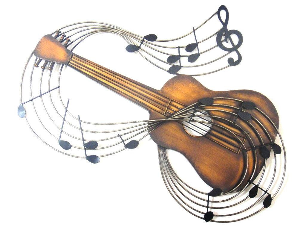 Metal Wall Art In 2018 Musical Instruments Metal Wall Art (View 9 of 20)