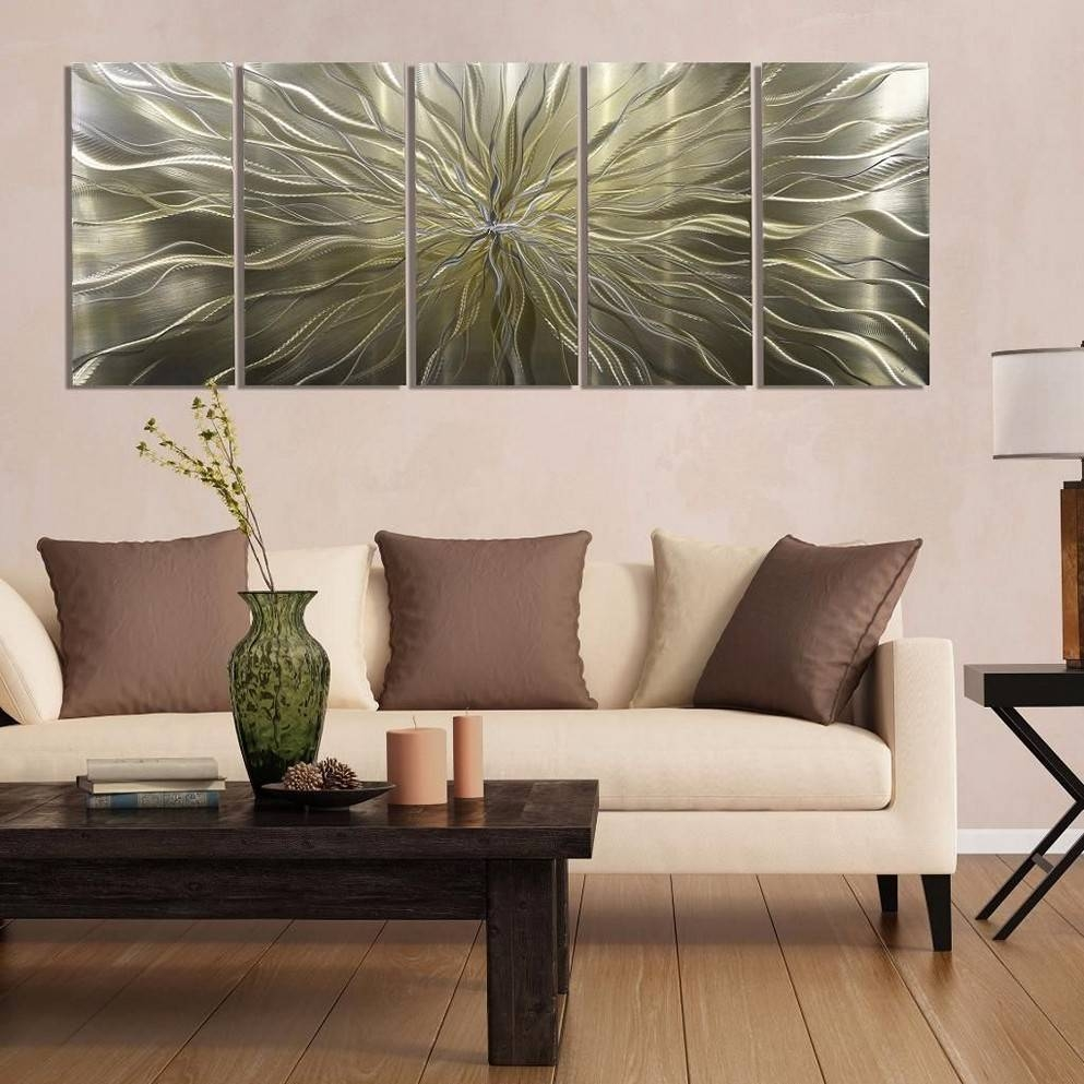 Metal Wall Art Panels For Interior Décor With Regard To Latest Metal Wall Artworks (View 9 of 20)