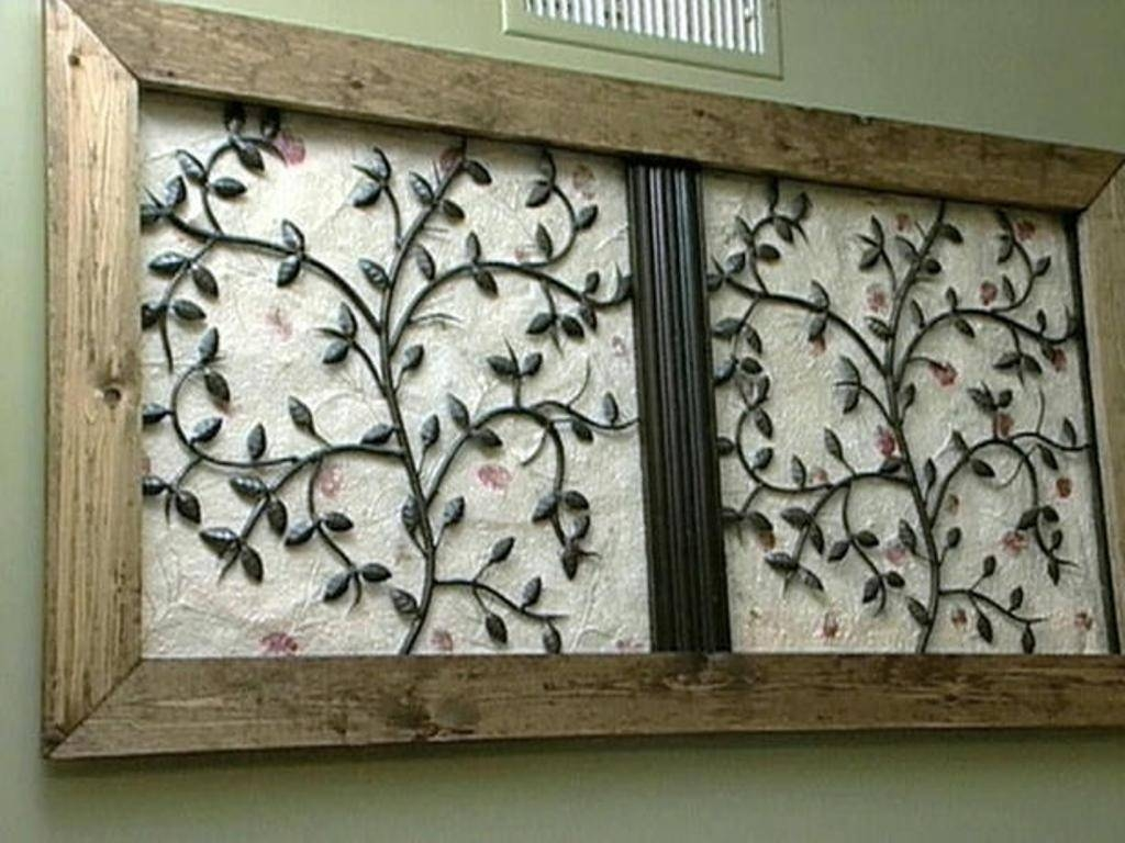 Metal Wall Art Panels — Radionigerialagos In Most Popular Wrought Iron Metal Wall Art (View 5 of 20)