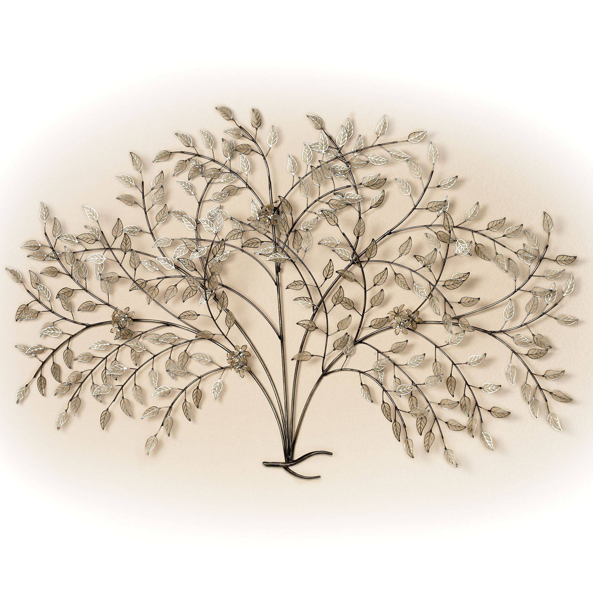 Metal Wall Art Sculptures | Touch Of Class With Most Up To Date Metal Wall Art Trees And Leaves (View 11 of 20)