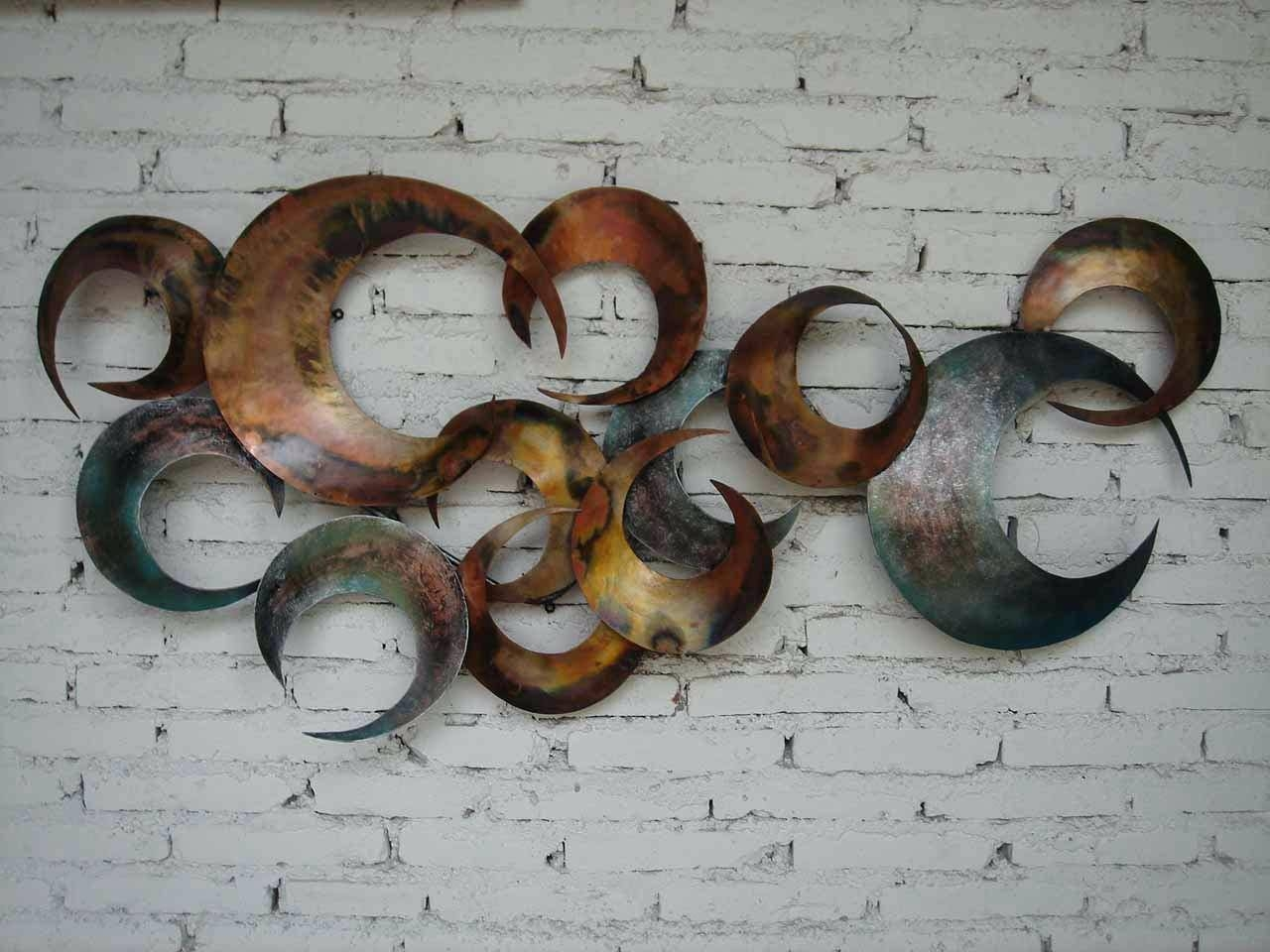 Metal Wall Art Walmart Living Room Furniture Buffets & Sideboards Regarding 2018 Metal Wall Art Circles (View 16 of 20)