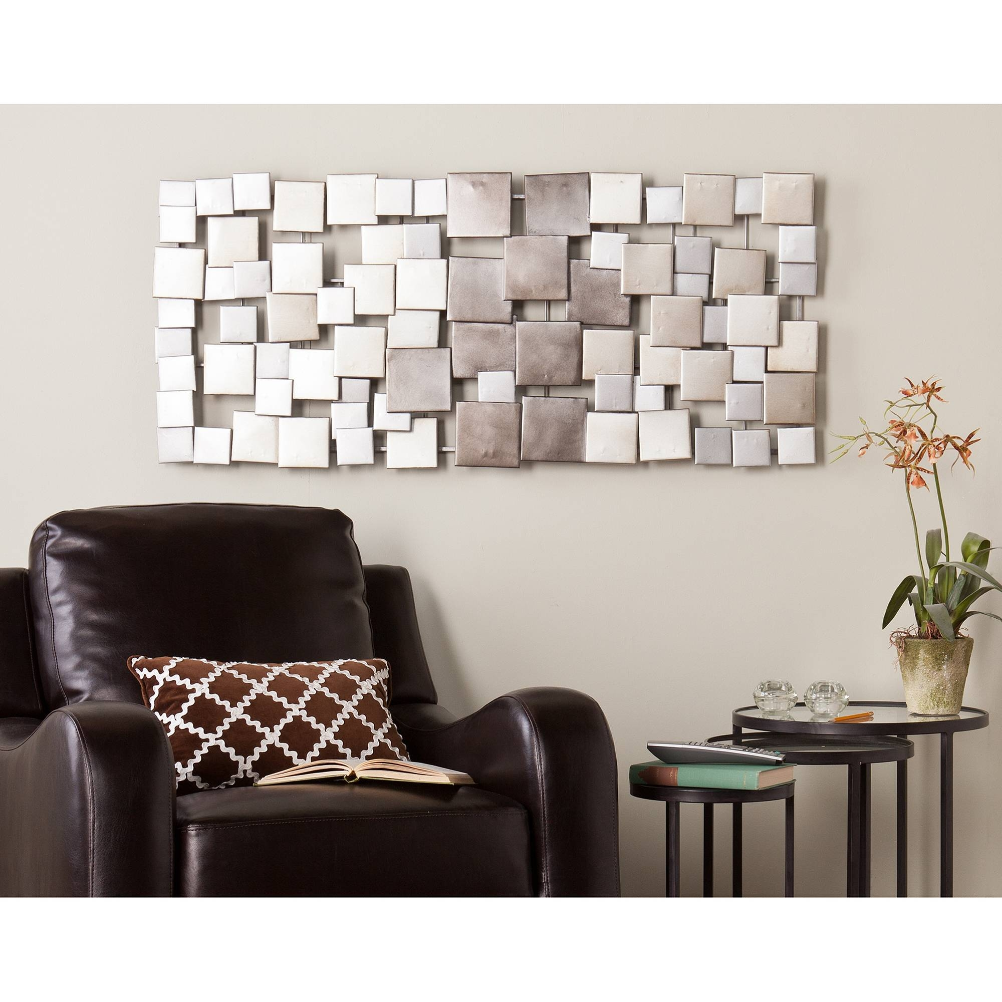 Metal Wall Art – Walmart Regarding Most Current Multi Color Metal Wall Art (View 20 of 20)
