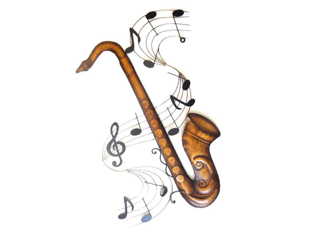 Metal Wall Art Within Most Current Musical Instruments Metal Wall Art (View 18 of 20)