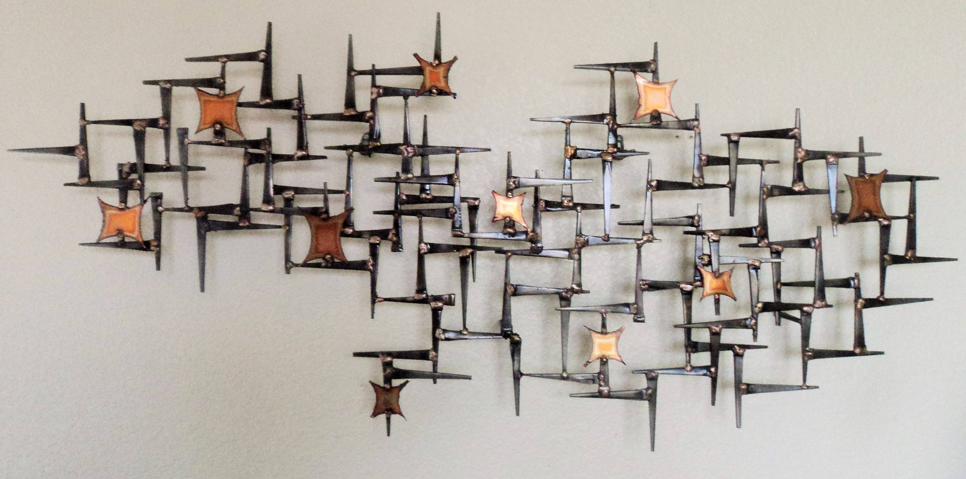 Mid Century Modern Wall Art Sculpture | Best Wall Art 2018 With Regard To Most Recently Released Mid Century Modern Metal Wall Art (View 14 of 20)