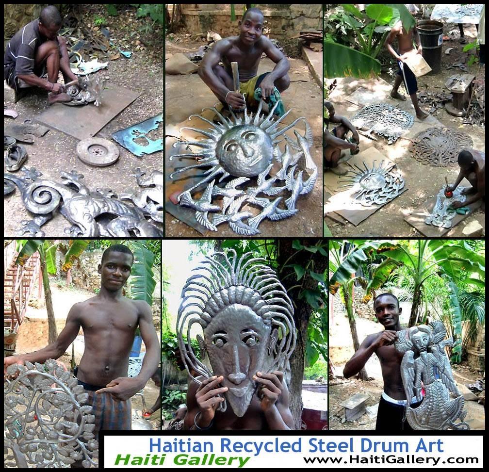 Milestoneartworks – Haitian Metal Wall Art – Tree Wall Decor For Best And Newest Haitian Metal Wall Art (View 5 of 20)