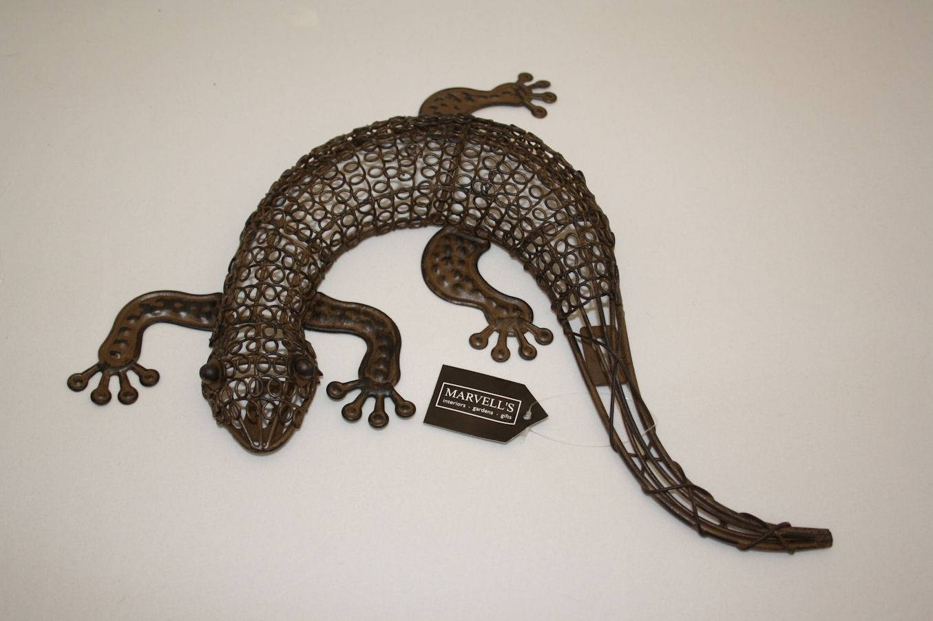 Mini Gecko Wall Art Pertaining To Current Lizard Metal Wall Art (View 15 of 20)