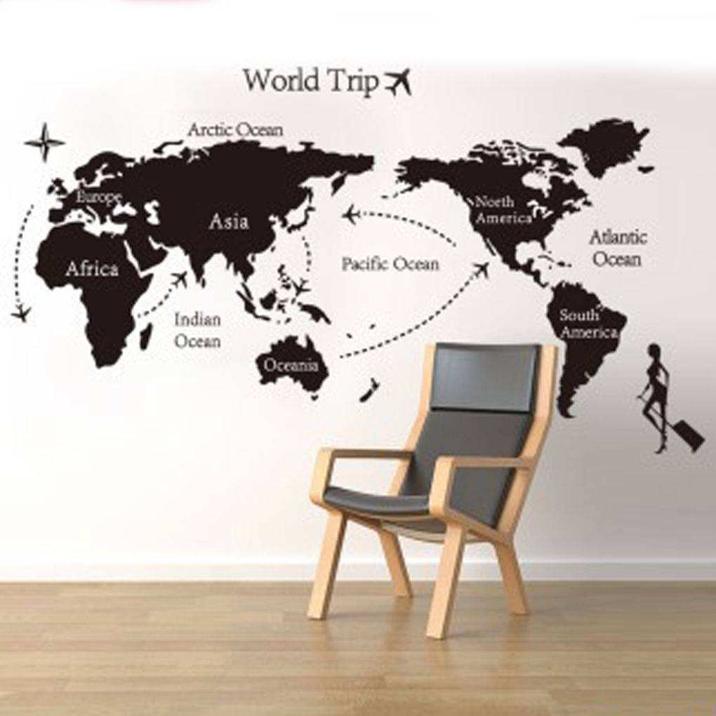 Featured Photo of Travel Map Wall Art