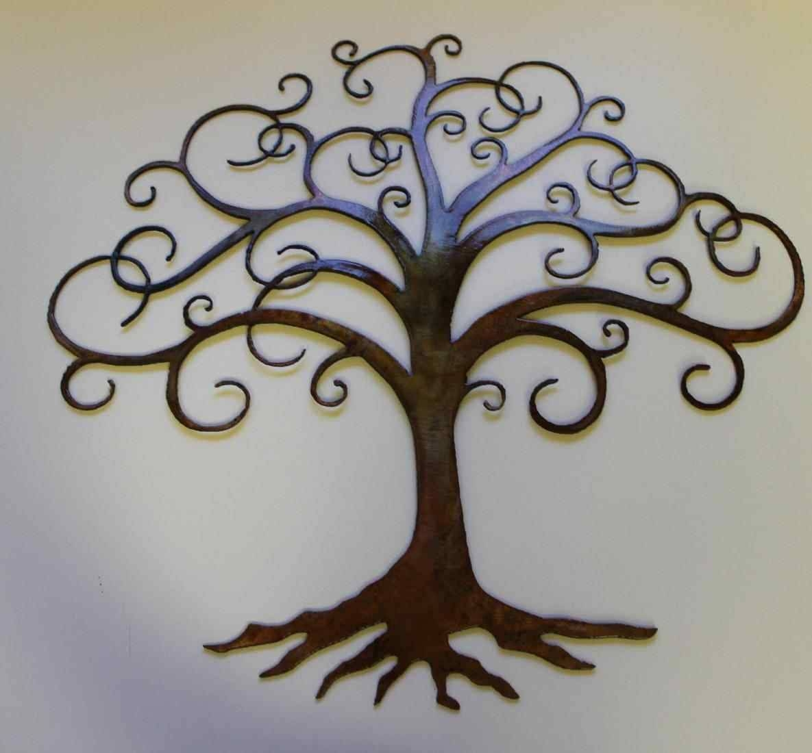 Modern Decor Bronze Design Uk Red Wall Red Tree Metal Wall Art Throughout Most Recently Released Red Tree Metal Wall Art (View 17 of 20)