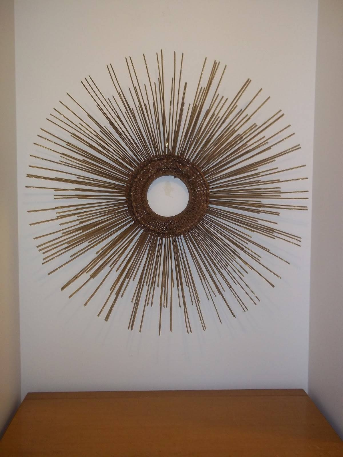 Modern20: Mid Century Modern Starburst Sculpture In The Style Of Throughout Current Mid Century Modern Metal Wall Art (View 17 of 20)