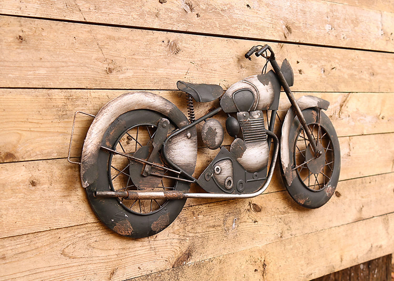Motorcycle 3D Wall Decor Metal Bike Art, Metal Art, 3D Art,biker In Most Recent Motorcycle Metal Wall Art (View 7 of 20)