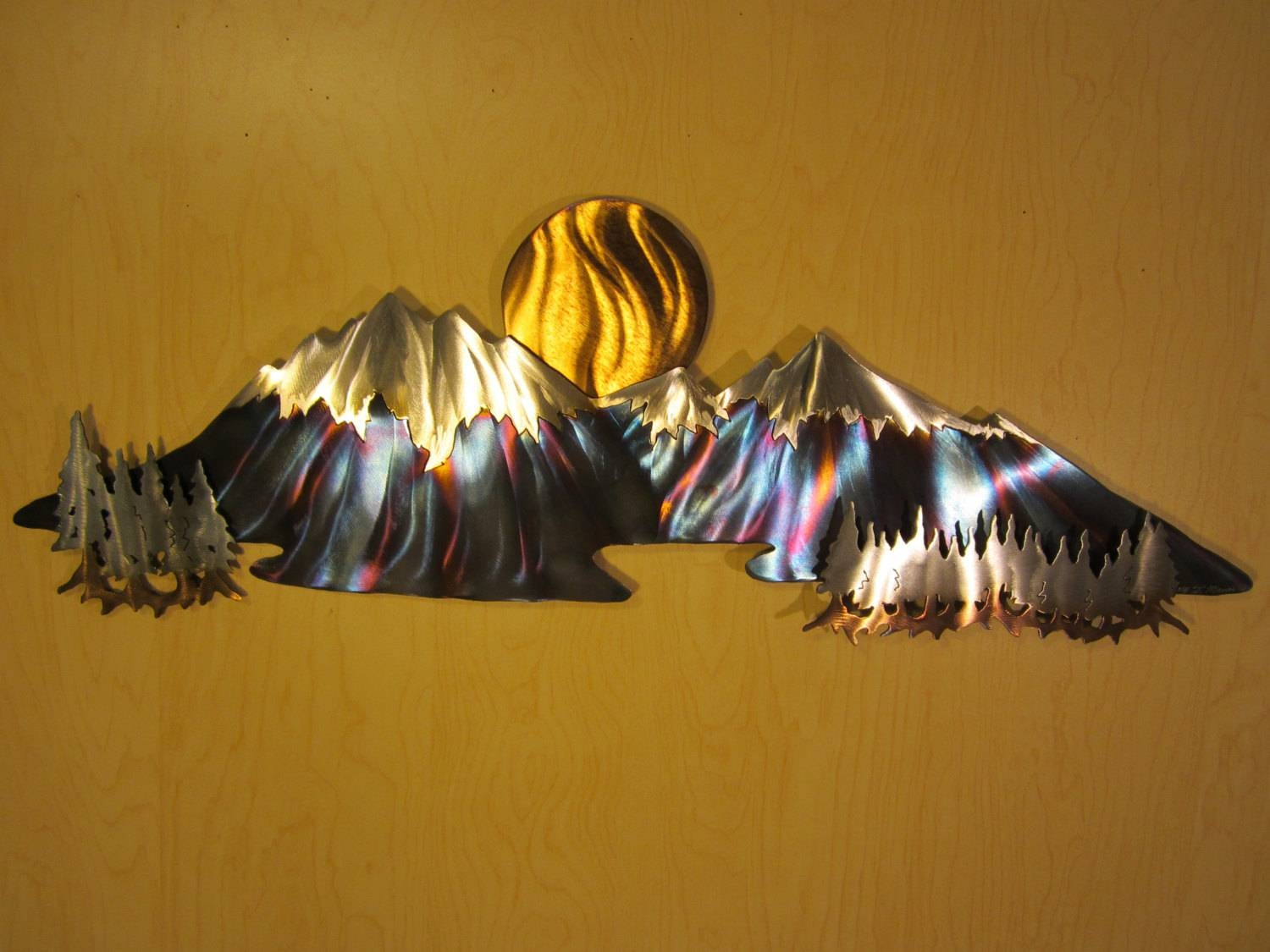 Explore Gallery of Mountains Metal Wall Art (Showing 9 of 20 Photos)