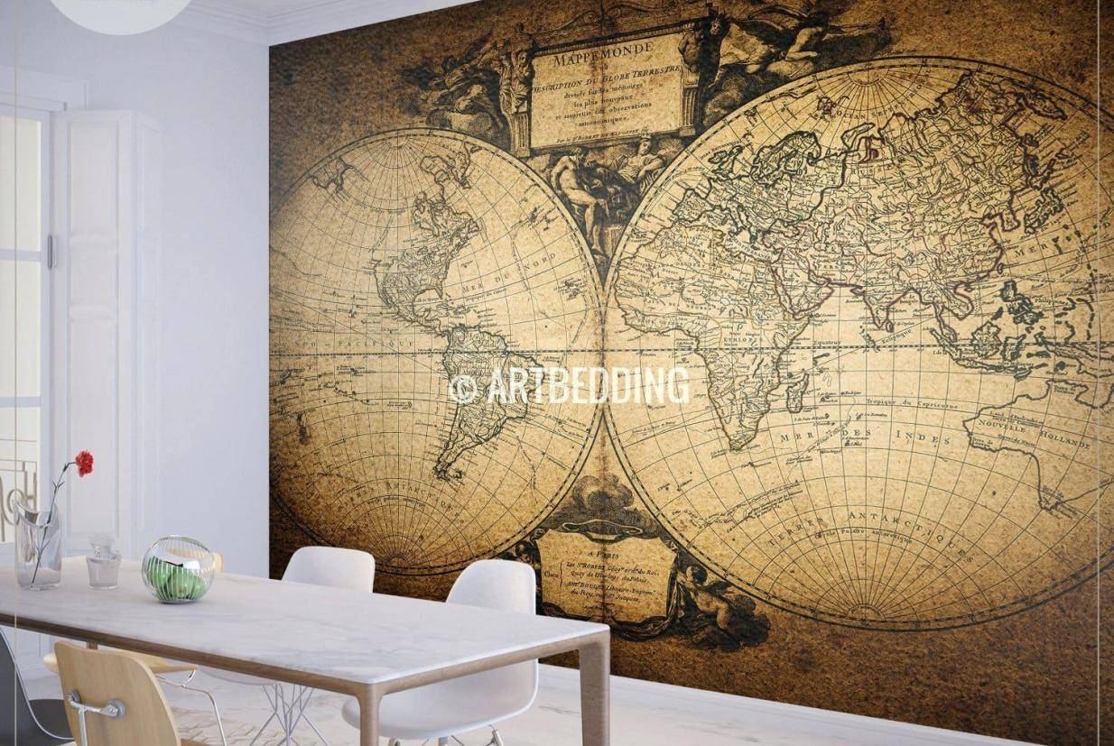 Mural : Family Tree Wall Art Canada Amazing Wall Murals Canada Pertaining To Recent Map Wall Art Toronto (View 5 of 20)