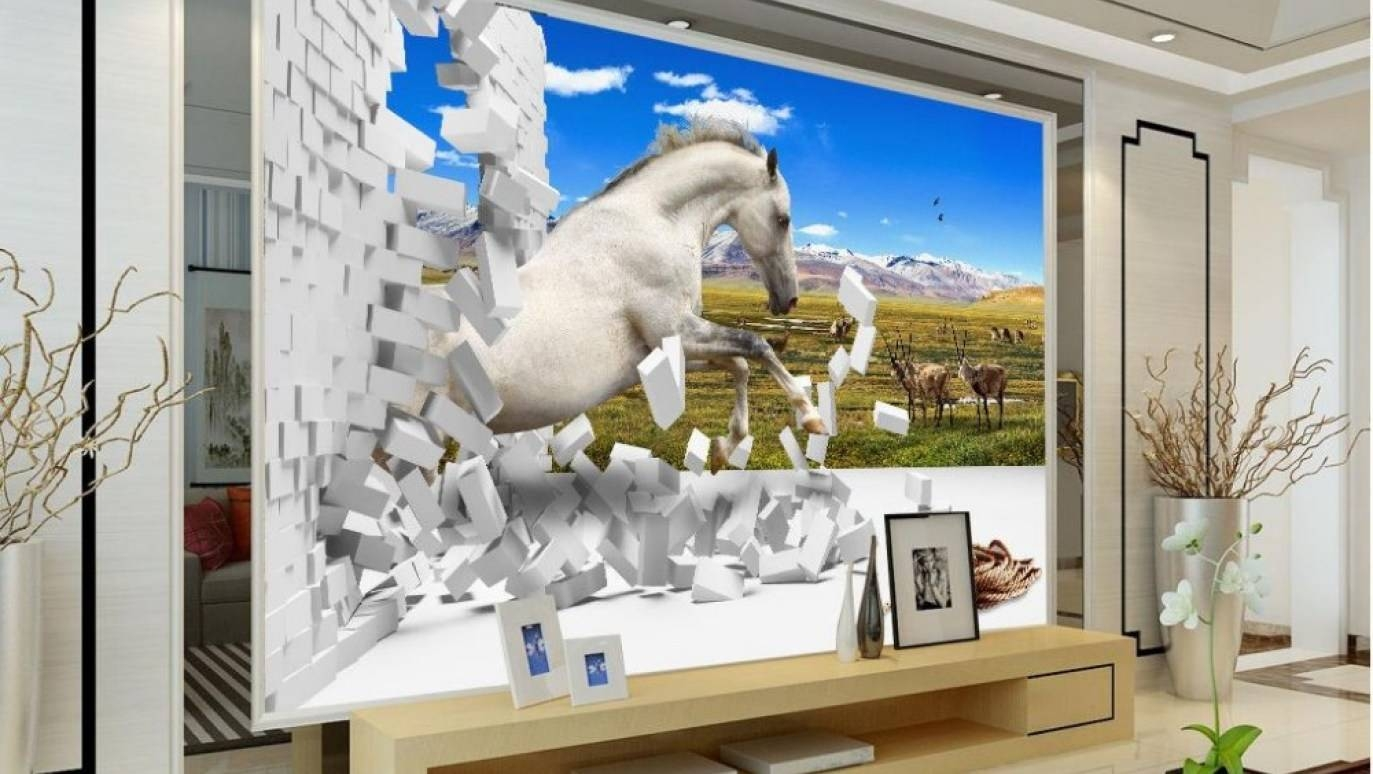 Mural : Modern Decoration Horse Metal Wall Art Wonderful Ideas Regarding Most Popular Silhouettes Western Metal Wall Art (View 13 of 20)