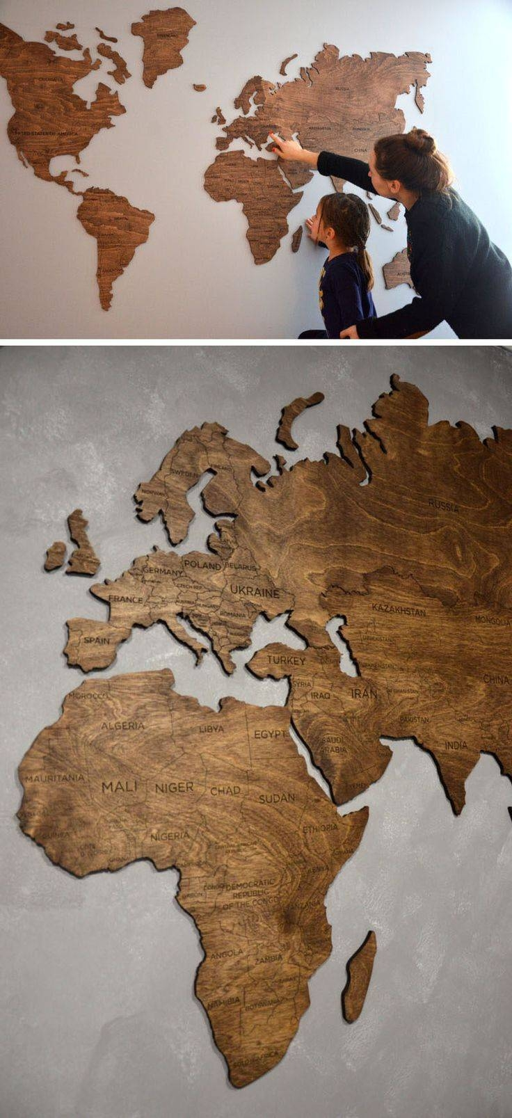 Mural : World Maps Amazing Map Mural Diy World Map Wall Art For Most Current Cool Map Wall Art (View 9 of 20)