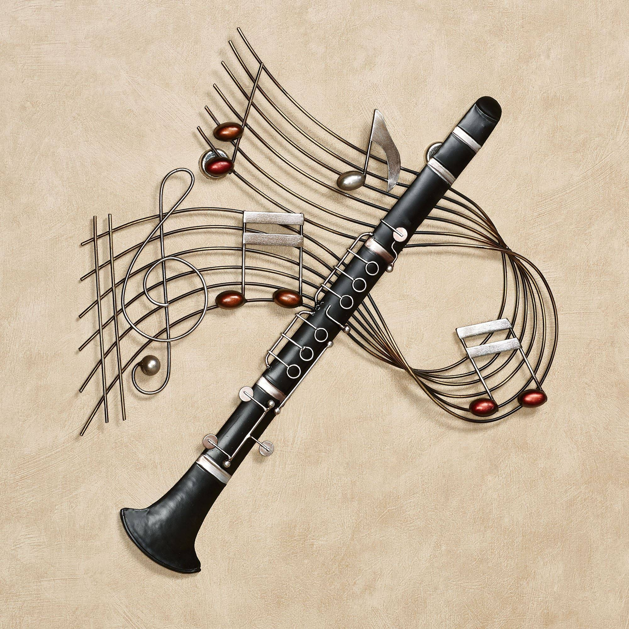 Music Wall Art | Touch Of Class In Most Recently Released Musical Instruments Metal Wall Art (View 12 of 20)