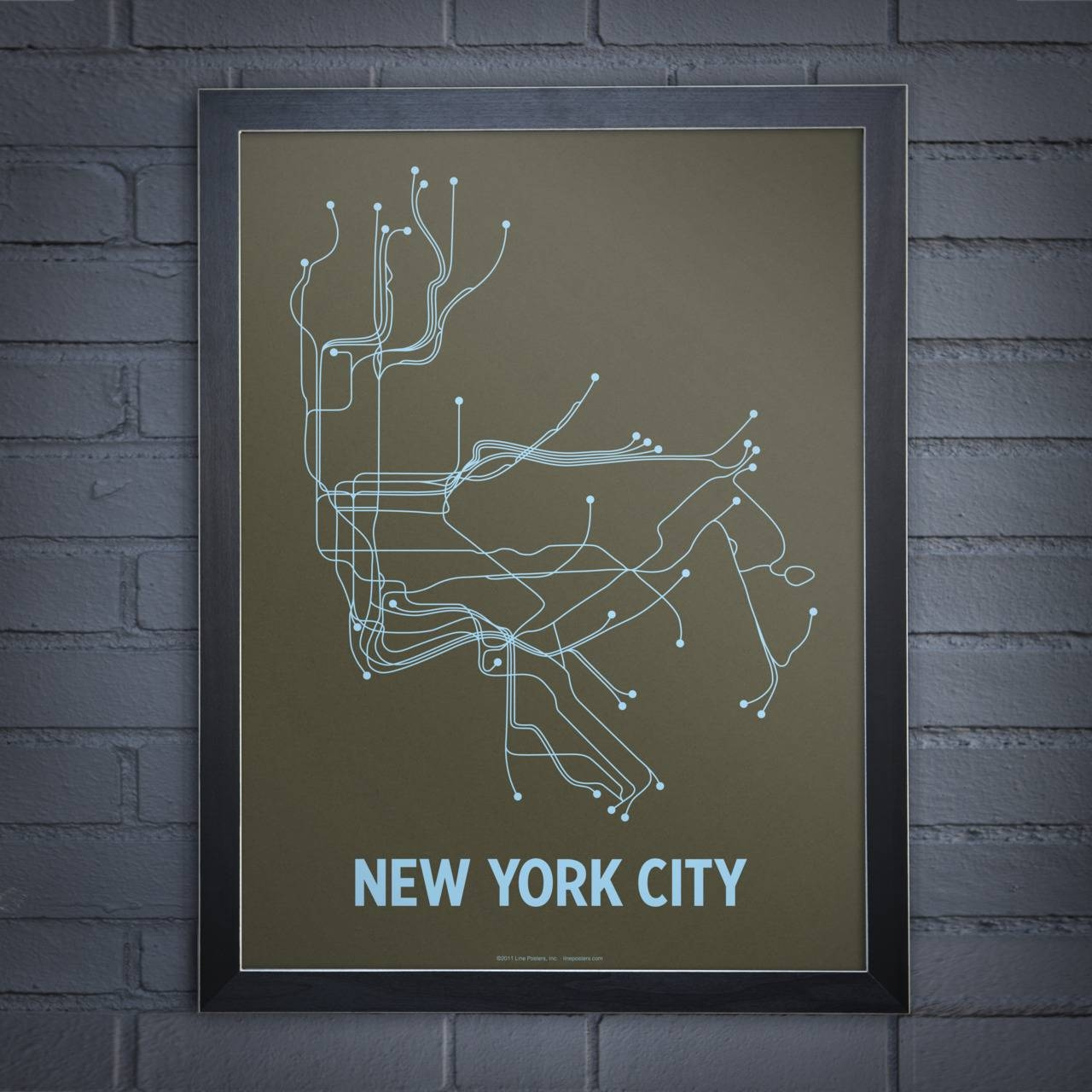 New York City | Urbanempire Within Most Current Nyc Subway Map Wall Art (View 2 of 20)