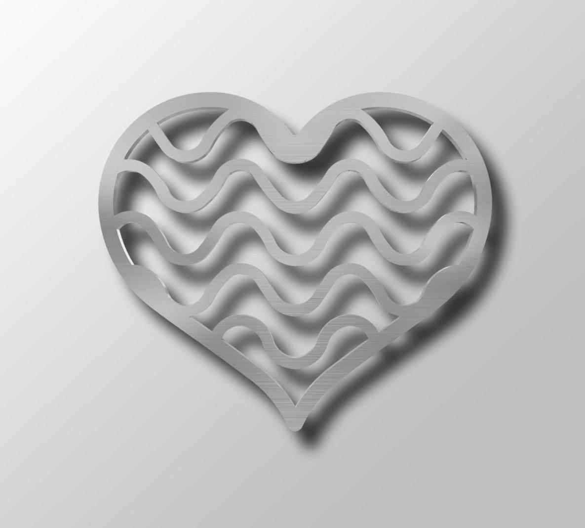 Of My Heart Shaped Metal Wall Art Sculpture Elegant In Ikea Canvas Intended For Most Popular Heart Shaped Metal Wall Art (View 7 of 20)