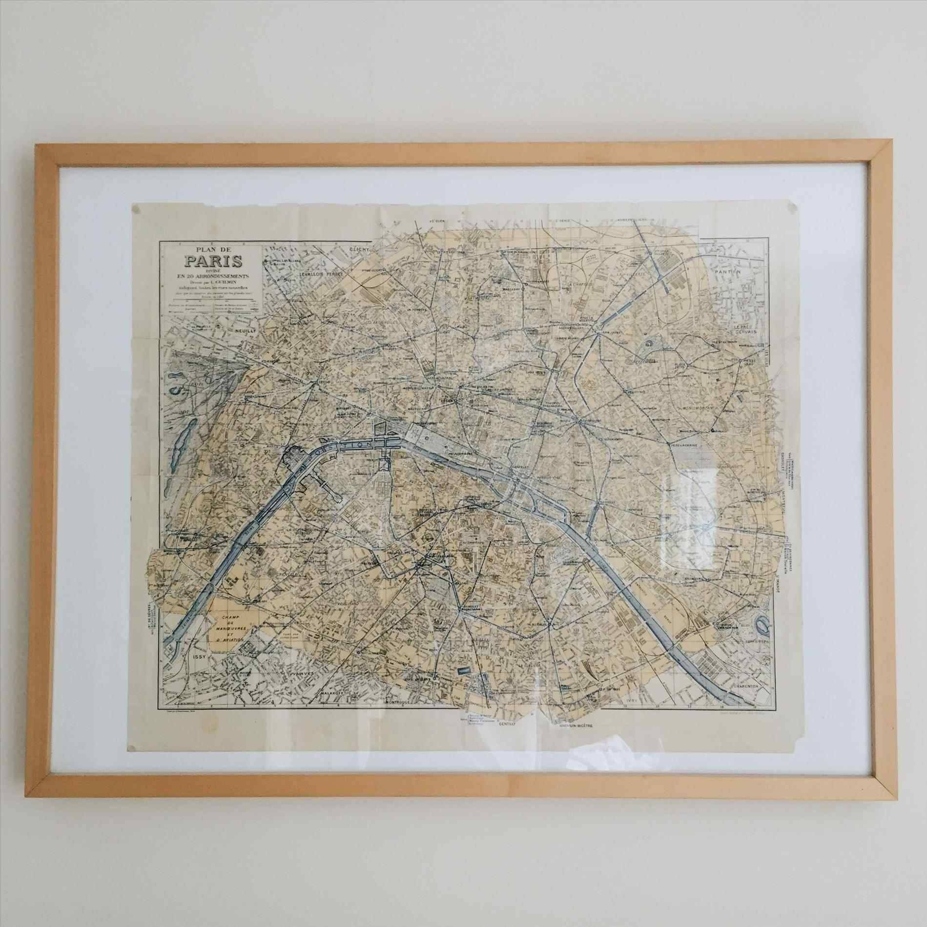 Of Paris Wall Art For Touch Class Awesome Paris Metal Wall Art Map with regard to Most Up-to-Date Paris Metal Wall Art