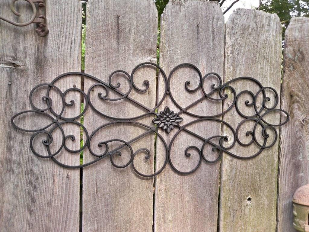 Outdoor Metal Wall Art Design Ideas | Indoor & Outdoor Decor With Newest Garden Metal Wall Art (View 10 of 20)