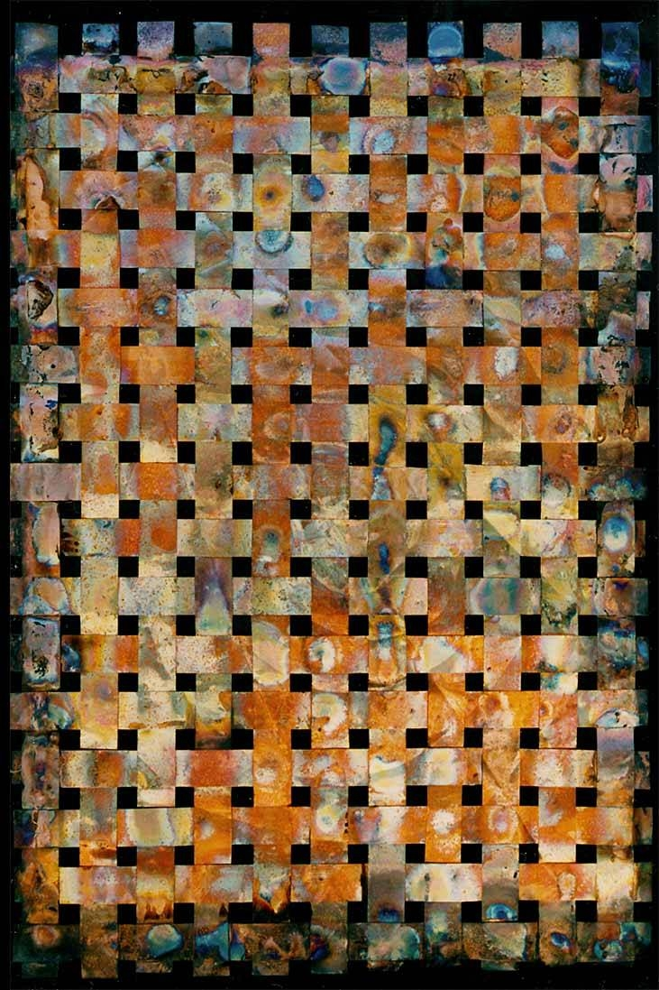 Outdoor Metal Wall Art Weaving > Outdoor Copper Wall Art > Woven Metal With Regard To Most Recently Released Woven Metal Wall Art (View 7 of 20)