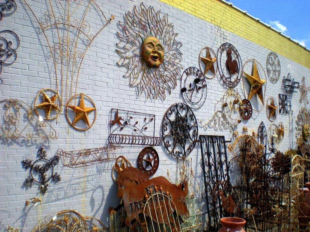 Outdoor Patio Art Extra Large Outdoor Metal Wall Art Exterior Wall pertaining to Most Up-to-Date Inexpensive Metal Wall Art