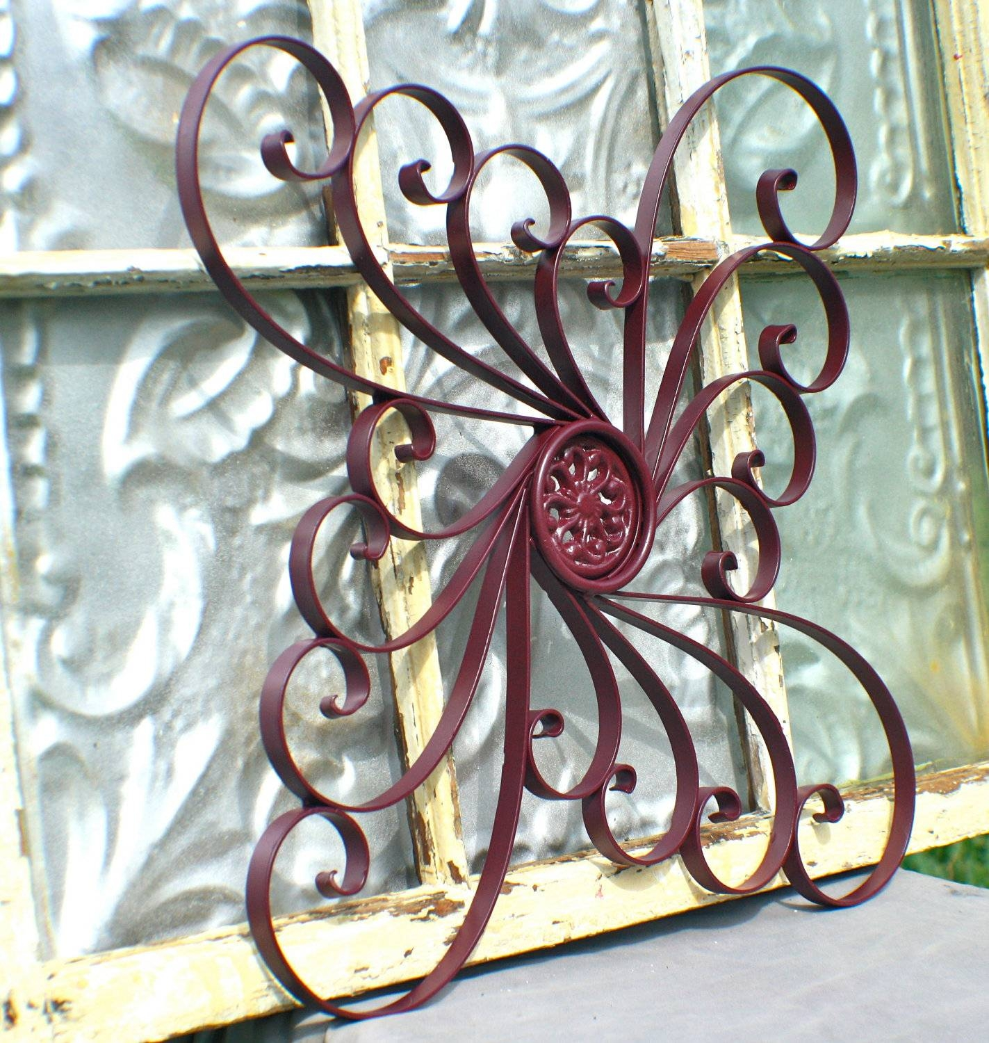 Outdoor Patio Art Extra Large Outdoor Metal Wall Art Exterior Wall Throughout Most Up To Date Iron Metal Wall Art (View 11 of 20)