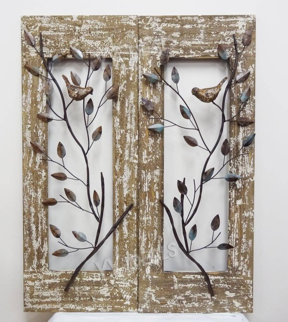 Outdoor Sun Wall Decor Metal Wall Decor Metal Wall Art Iron Wall Throughout Current Exterior Metal Wall Art (Gallery 14 of 20)