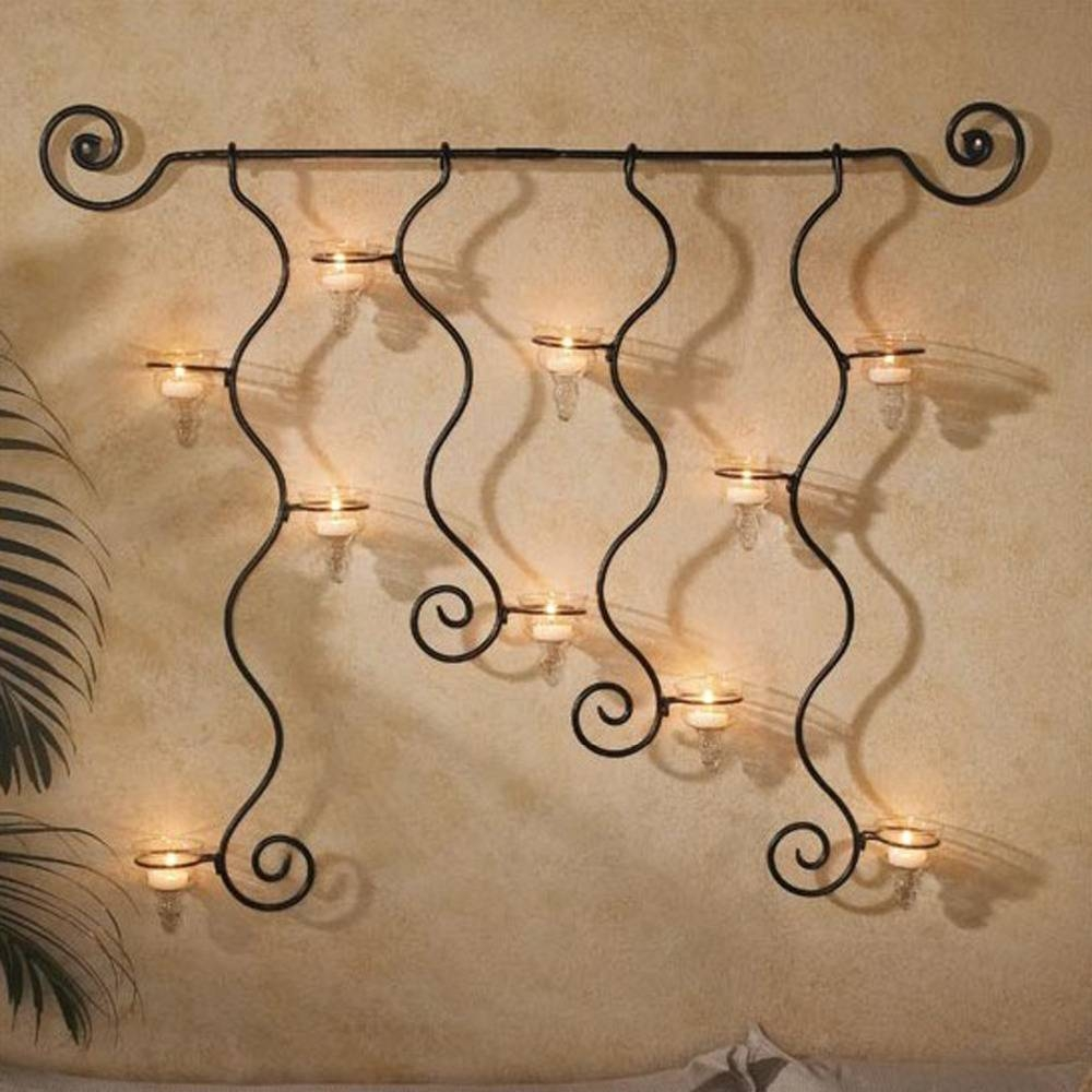 Outdoor Wrought Iron Wall Decor Ideas | Lildago throughout 2018 Inexpensive Metal Wall Art