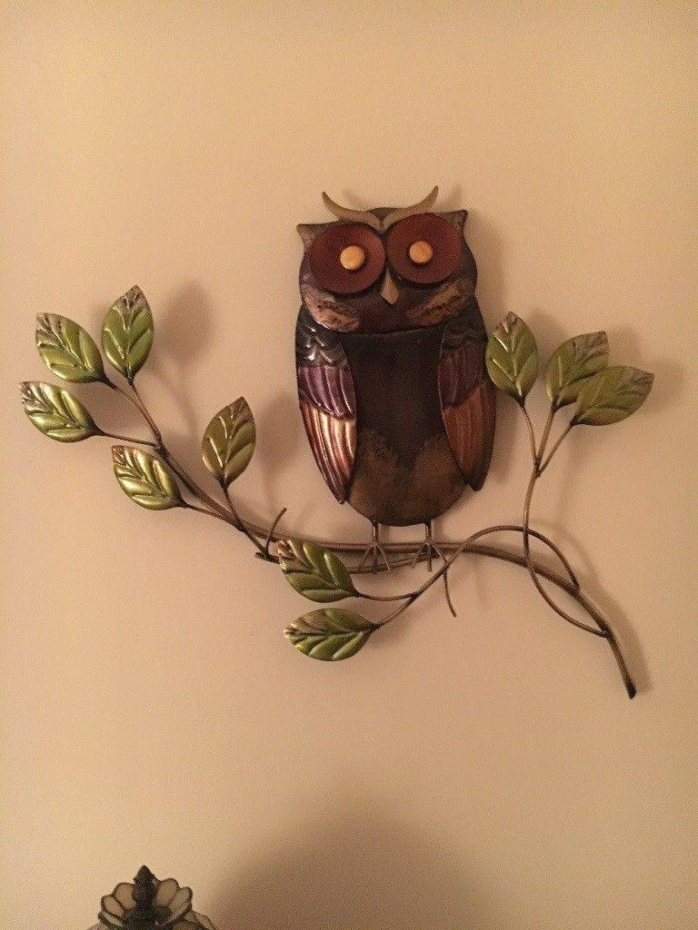 Owl Metal Wall Art | In Renfrew, Renfrewshire | Gumtree In 2017 Owls Metal Wall Art (View 10 of 20)