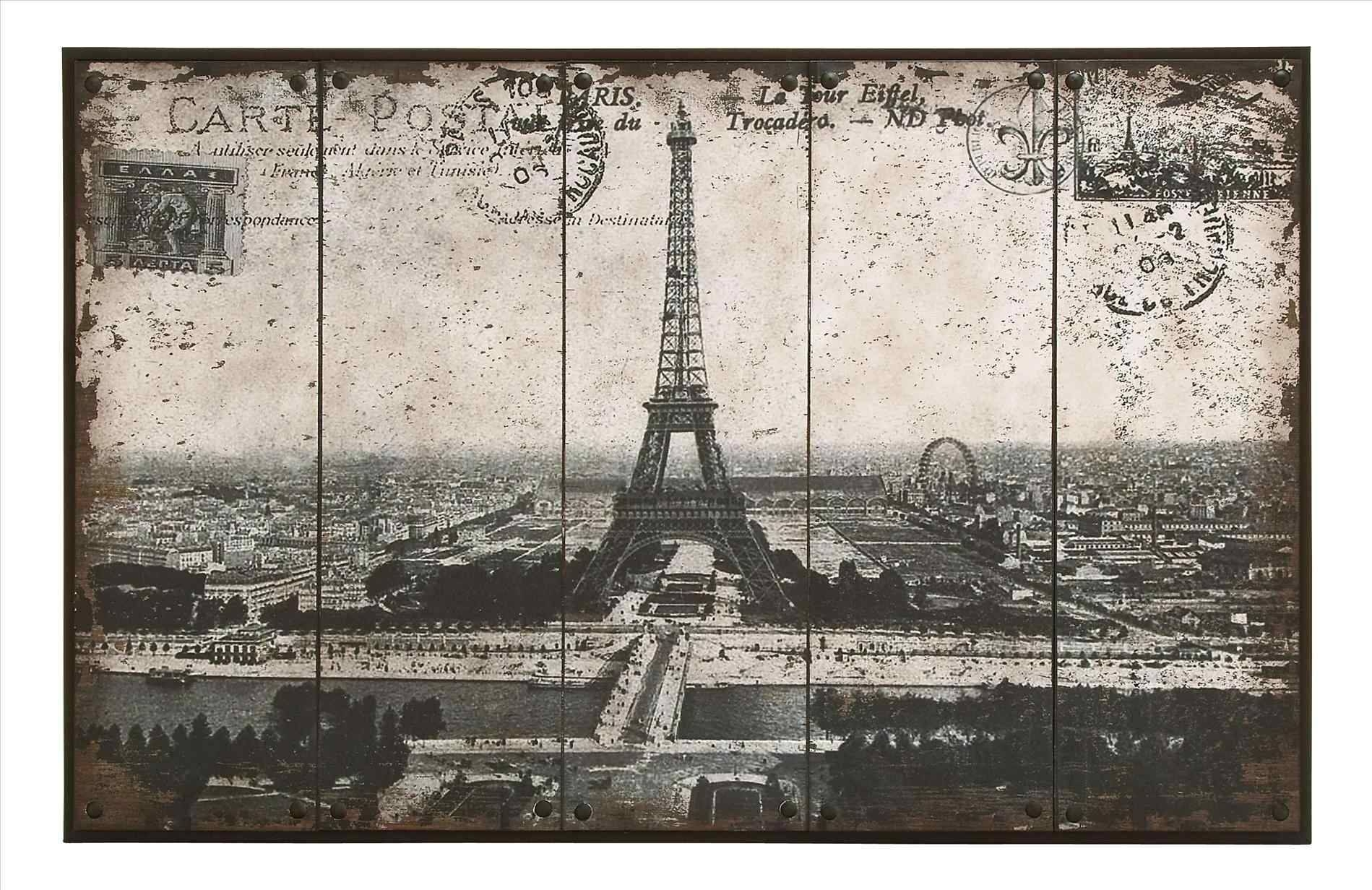 Parisu Cityscape Digital Designart Paris Metal Wall Art Uold Throughout Most Up To Date Paris Metal Wall Art (View 9 of 20)