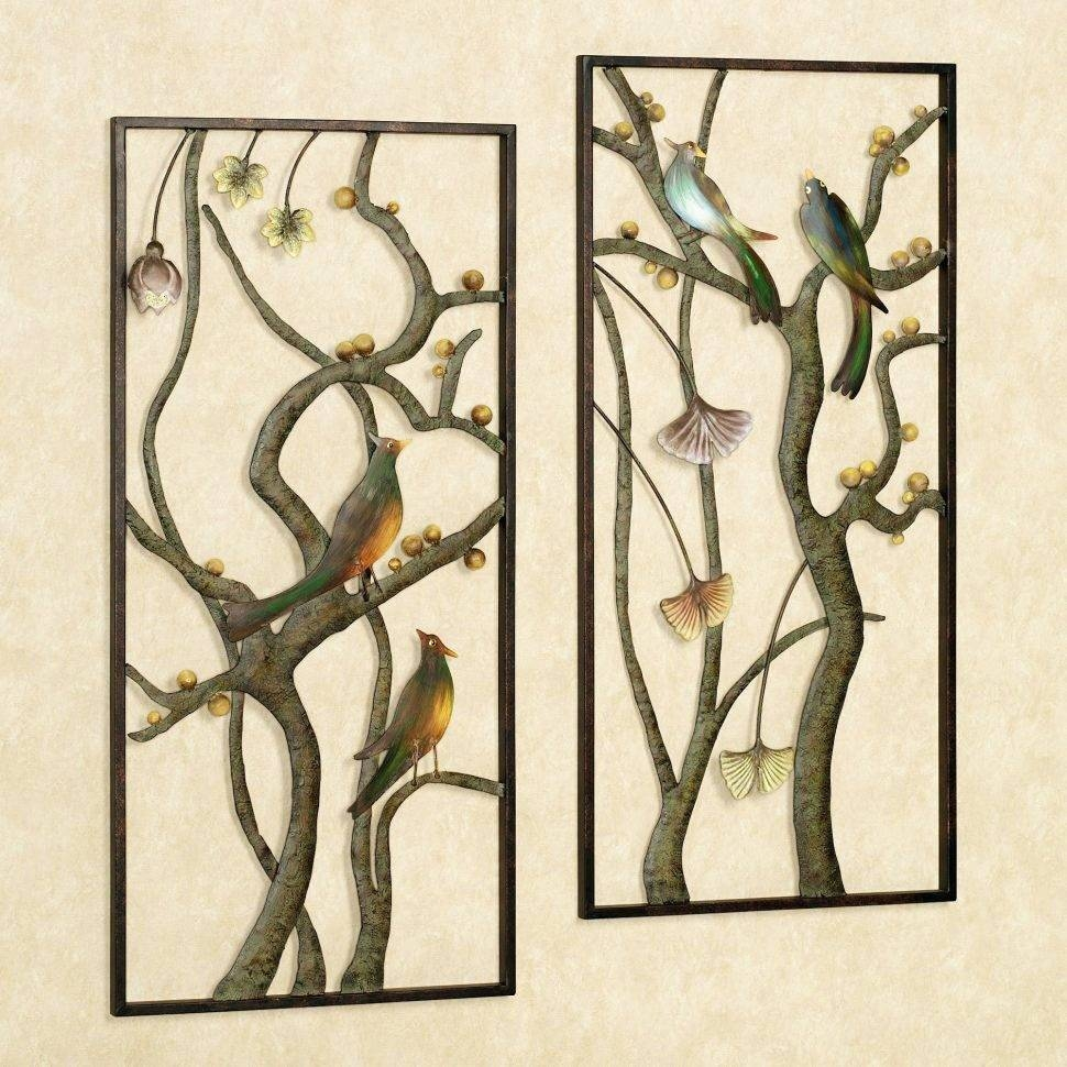 Patio Ideas ~ Diy Outdoor Wall Decor Metal Wall Art Decor And Pertaining To Most Up To Date Outside Metal Wall Art (View 19 of 20)