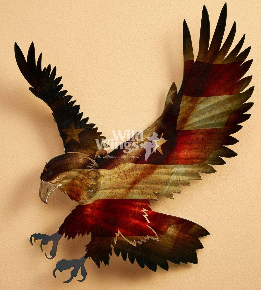 Top 20 of Eagle Metal Wall Art