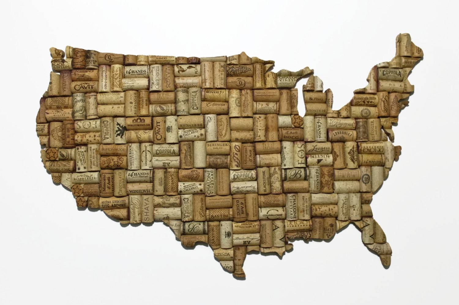 Patriotic Decor United States Map Patriotic Art United Regarding Latest State Map Wall Art (View 6 of 20)