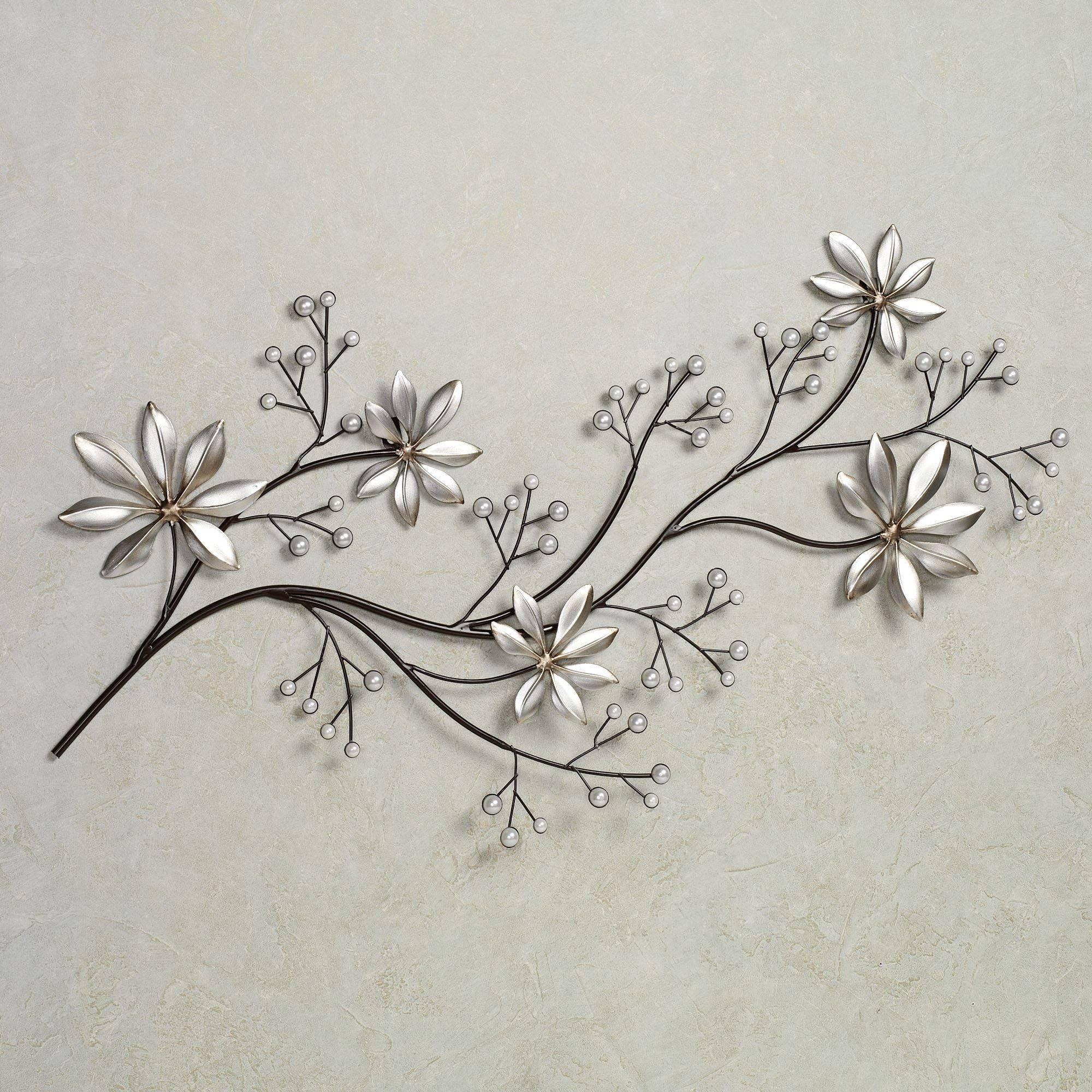 Featured Photo of Flower Metal Wall Art & 2018 Best of Flower Metal Wall Art