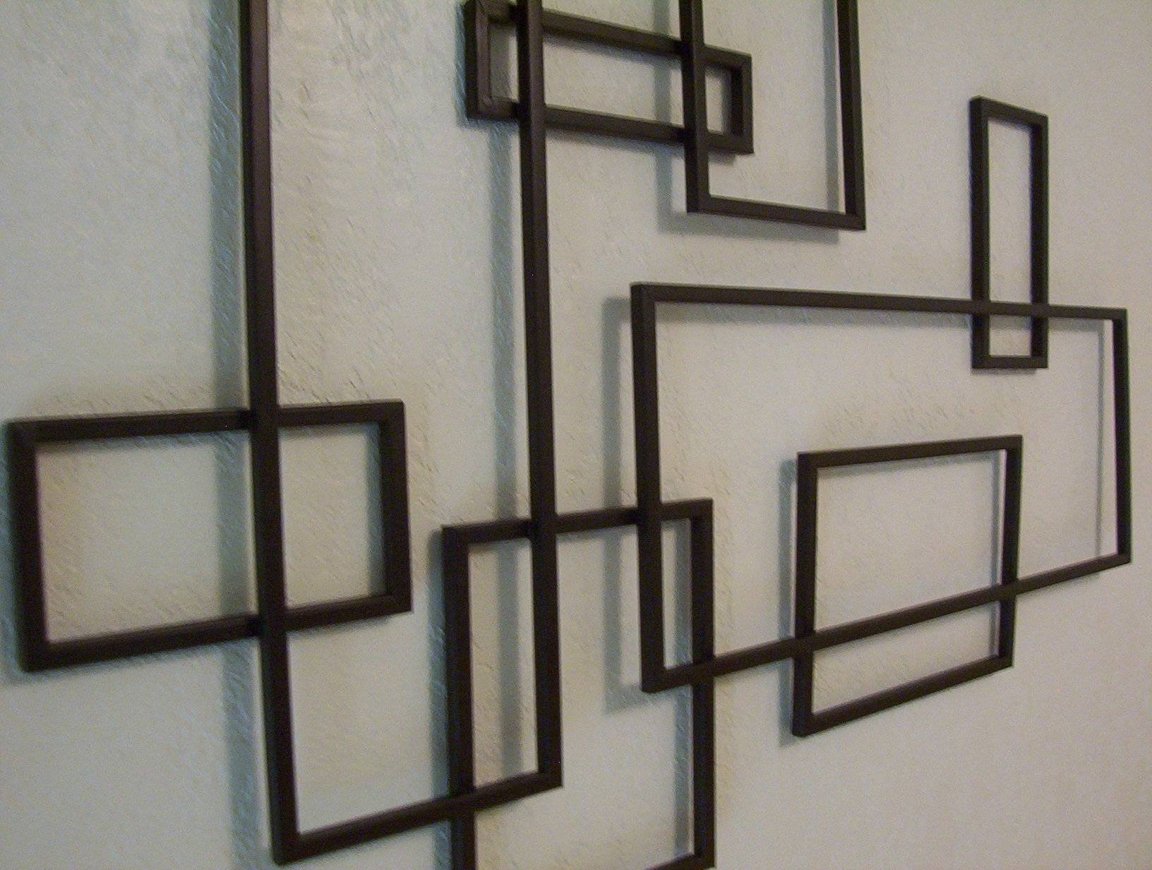Perfectly Decorate Your Home With Geometric Metal Wall Art | Subuha Inside Most Current Geometric Metal Wall Art (View 13 of 20)